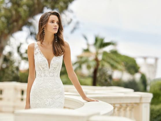 Vestido de novia Aire Barcelona en Novias Pilar Gil